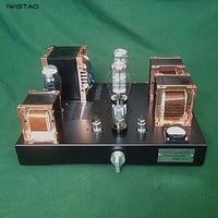 2X8 Вт 300B несимметричный класс A ламповый усилитель британский красный бык Железный сердечник трансформатор HIFI аудио