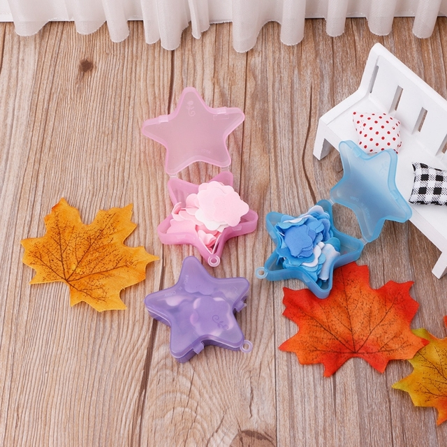 1 Box Stars Shape Convenient Washing Cleaning Hand Paper Soap Anti-Bacterial Portable Gift Random color New 2