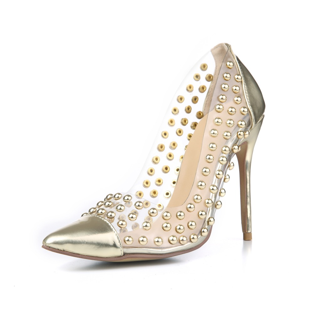 Compare Prices on Gold Studded Heels- Online Shopping/Buy Low ...