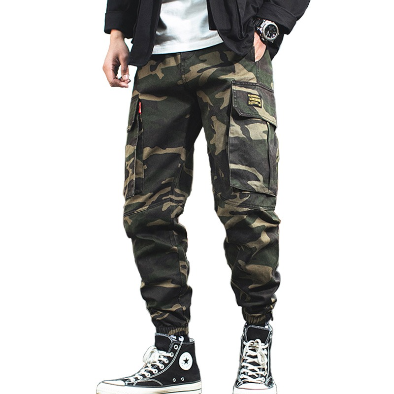 999cfb021d3 2019 Men s Cargo Pants Casual Cotton Military Tactical Baggy Pants Trousers Plus  size 3XL Military Camouflage