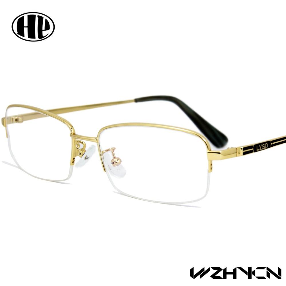 2017 design men eyewear office alloy glasses frame clear lens classic glassess multi colorchina