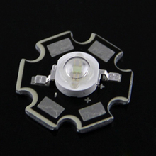 10pcs 3W 5W 395nm UV LED/Ultra Violet High Power LED Bead Emitter 395-400NM 3w UV LED with 20mm Star Platine Heatsink