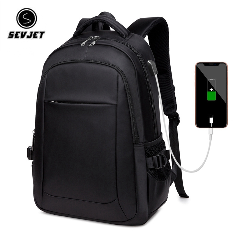 Brand USB Charge Anti Theft Backpacks Men Travel Waterproof School Bags College Teenager Male 13/15/17 Inches Laptop Backpac