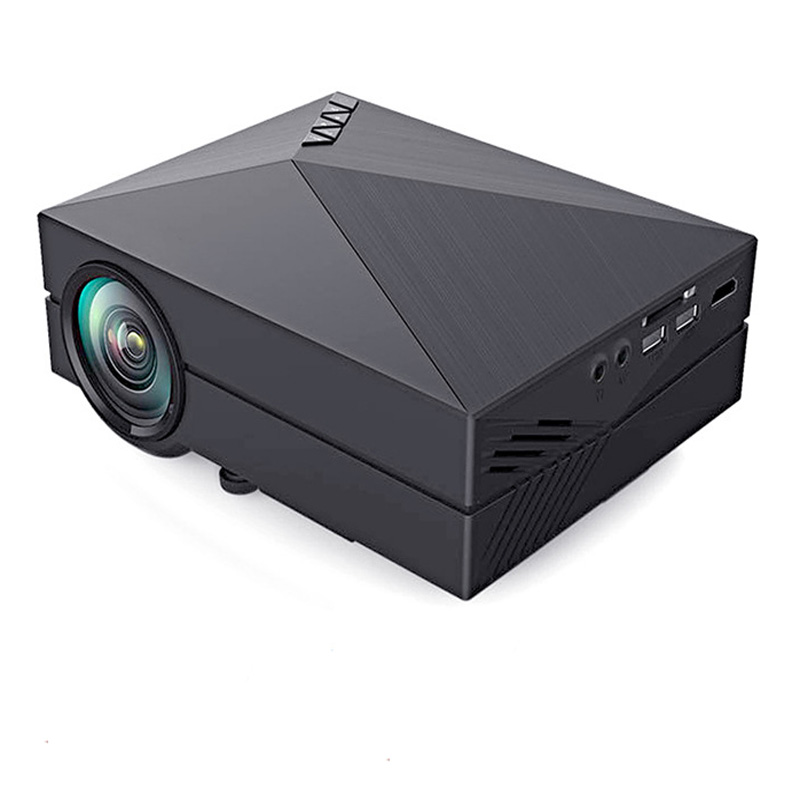 Buy gm60 portable projector 1000lumens 800 480 led for Portable projector reviews