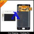 4.3 ' frete grátis 100% testado Original para Samsung Galaxy S2 i9100 LCD digitador assembléia - preto / branco