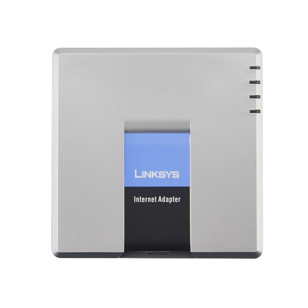 La mejor opción para desbloqueado LINKSYS SPA3102 1FXO 1 FXS adaptador de internet FXS router VOIP con llamadas a PSTN servicio