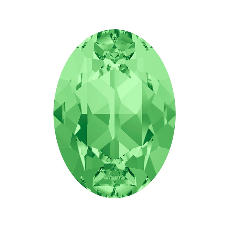 #4120 10*14mm 13*18mm 18*25mm Peridot Crystal Rhinestone Pointback Oval Shape Strass Fancy Stones For Shoes Accessories 1 88 ct oval green peridot gemstone 14k yellow gold pendant earrings set