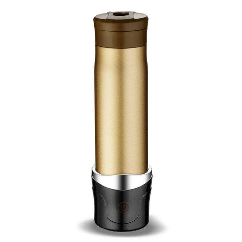 Stainless Steel Travel Car Electric Cup 100 Degrees 12 V 24v Car Heating Cup Kettle Water Heater Bottle Vacuum Flask Thermos Mug