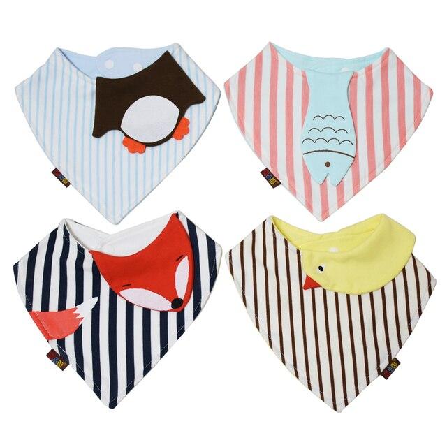 Новинка хлопковые влагопоглощающие новорожденных Babador нагрудный платок для маленьких Полотенца малыша Треугольники шарф мальчиков Обувь для девочек младенческой слюны Полотенца