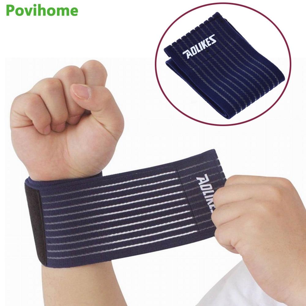 1Pcs Professional High Elastic Adjustable Nylon Wrist Knee Ankle Elbow Calf Arm Support Wrap Bands Brace Bandage   Z11301