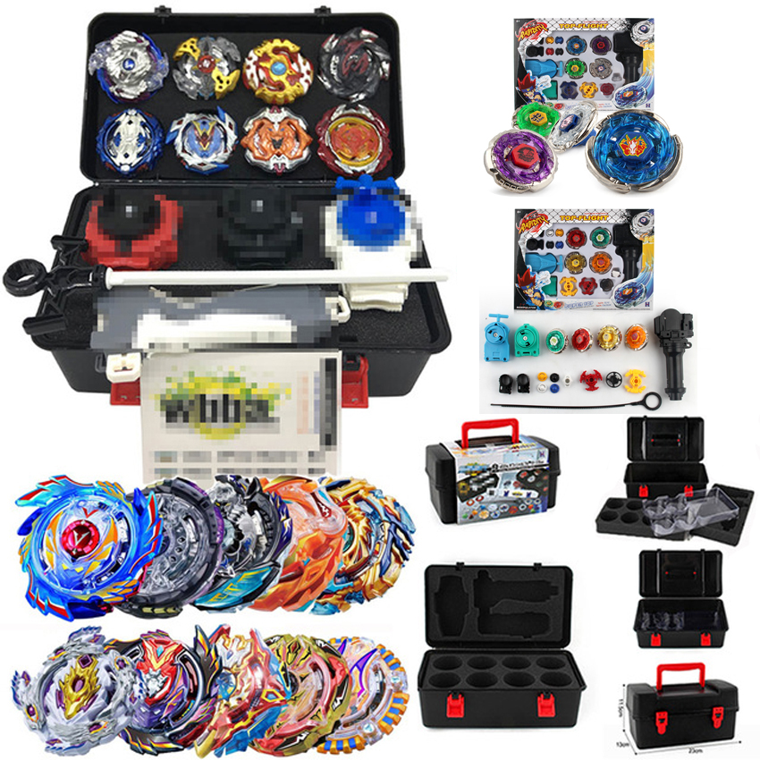 With Original Package Beyblade Set Metal Fusion 4D Launcher Beyblade set Spinning Top set Kids Game Toys Children Christmas Gift гель la roche posay effaclar duo[ ] unifiant
