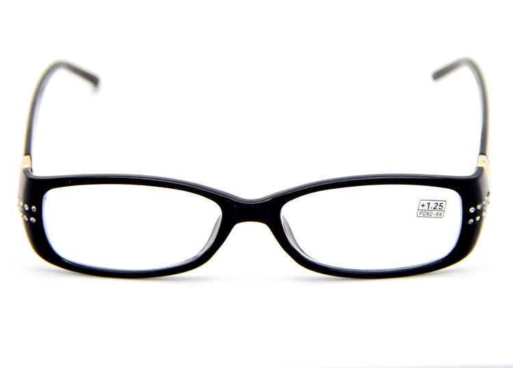 trendy specs frames  Aliexpress.com : Buy Women\u0027s Reading Glasses Black Frame Design ...