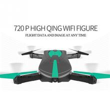 Wifi FPV Drone Foldable Pocket RC Quadcopter-BNF 2.0MP/0.3MP HD Camera 360 Rolling 2.4G 6-Axis RC MIni Drone With Camera