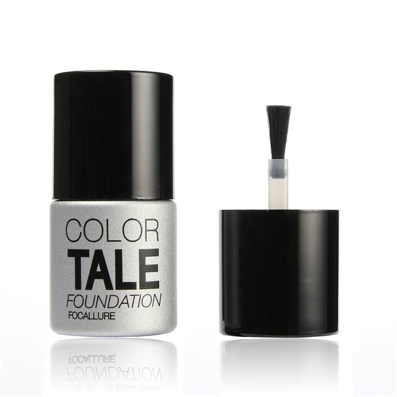 Focallure Color Tale Top Coat UV LED Nail Gel Polish 12ML UV Gel Polish Soak off Long Lasting Gel Lacquer Base Coat