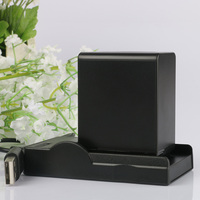 LANFULANG NP FV100 NP FV100 Rechargeable Camera Digital Battery + USB Charger For Sony HDR PJ800 HDR PJ810 HDR CX390 HDR CX210