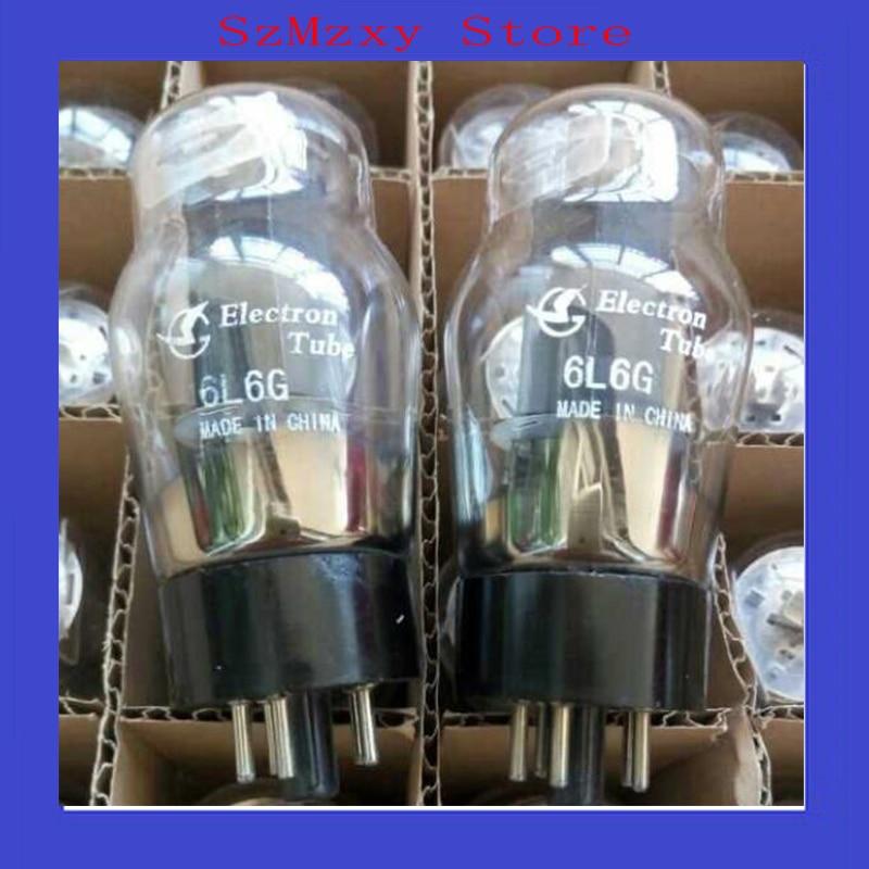 2PCS/LOT 6L6G Shuguang DIY Tube Replace 5881 EL34 6P3P KT88