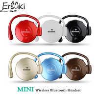 Ersuki Mini Auricolare Bluetooth sport Cuffia Senza Fili con Microfono vivavoce Auricolare Fone de ouvido