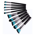 10pcs Professional Cosmetic Makeup Brushes Set tools Kabuki Make Up Contour Blending Brush