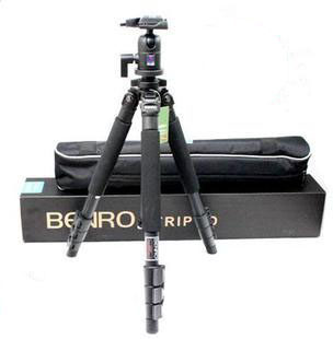 DHL gopro BENRO A-550EX + BH1 head magnesium alloy tripod  suit A550FBH1 wholesale