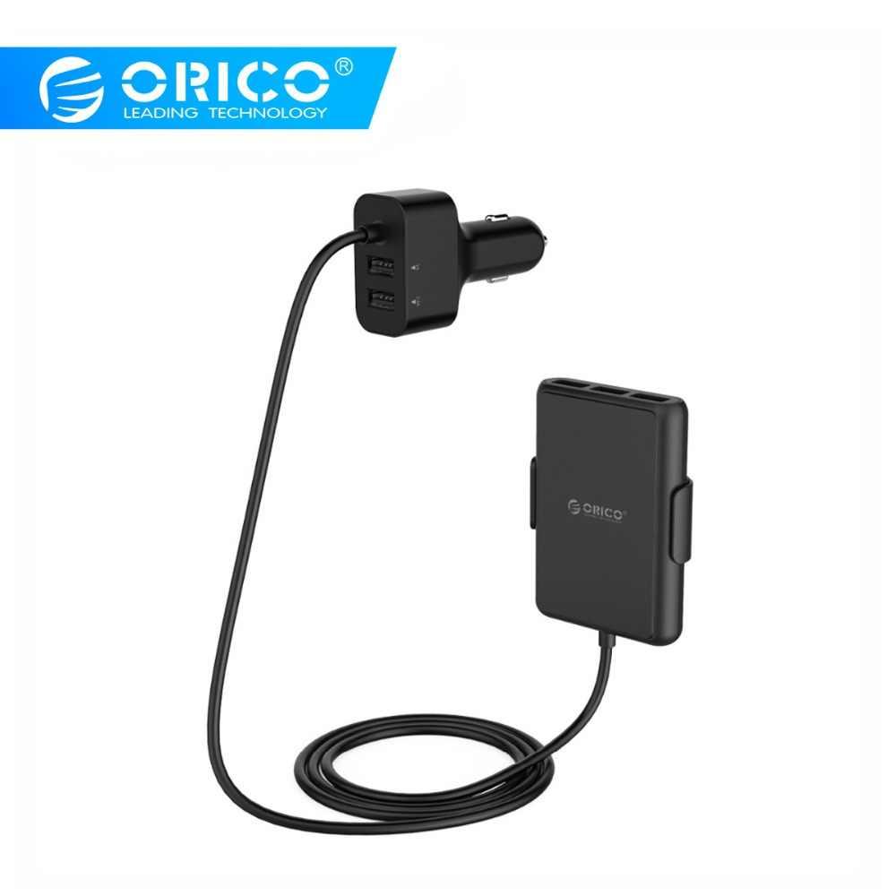 ORICO 5 منافذ شاحن سيارة 52 W QC3.0 USB مهايئ شاحن سريع شحن ل iphone samsung huawei xiaomi & أقراص