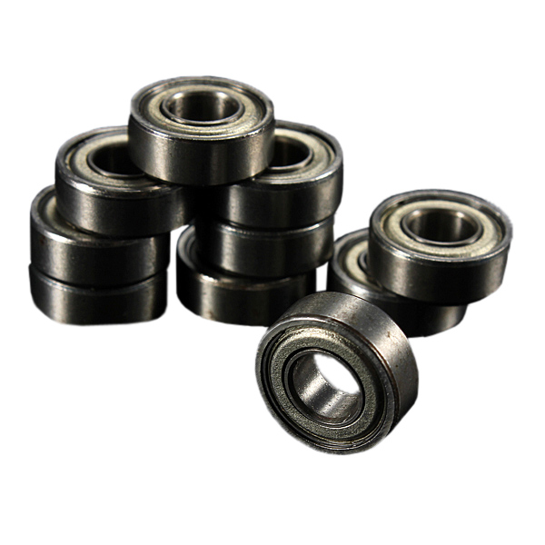 Excellent Quality 10pcs MR 115ZZ 5x11x4mm Sealed Metal Shielded Metric Radial Ball Bearing Steel Model Industry Tools Promotion 10 x 1 8mh 350ma 6x8mm 10% ferrite core shielded radial lead inductor black