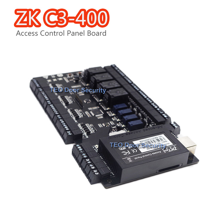 ZKTeco c3-400 Access Control Panel board TCP IP and RS485 Built-in Auxiliary Input and Output Four Doors Controller system dta 2145 double input and output collecting board