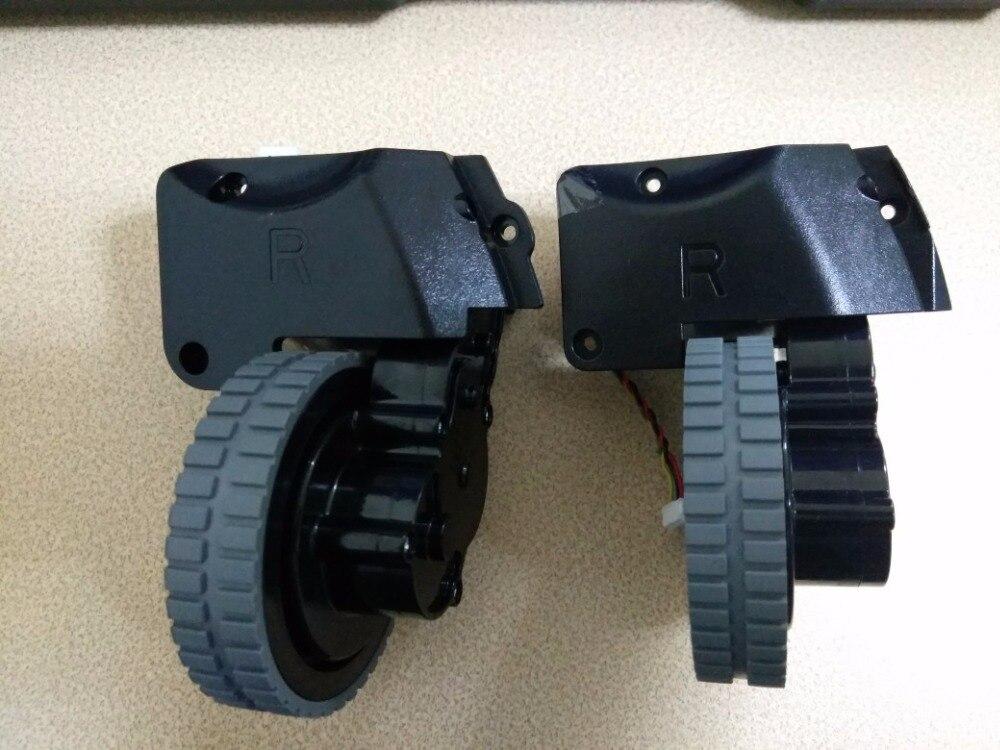 D'origine (Gauche + Droite) roue pour ilife A6 robot Aspirateur Pièces (Y Compris roue moteurs)