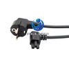 C5 Cloverleaf Lead to EU 2 Pin AC EU Plug Power Cable Lead Cord PC Monitor