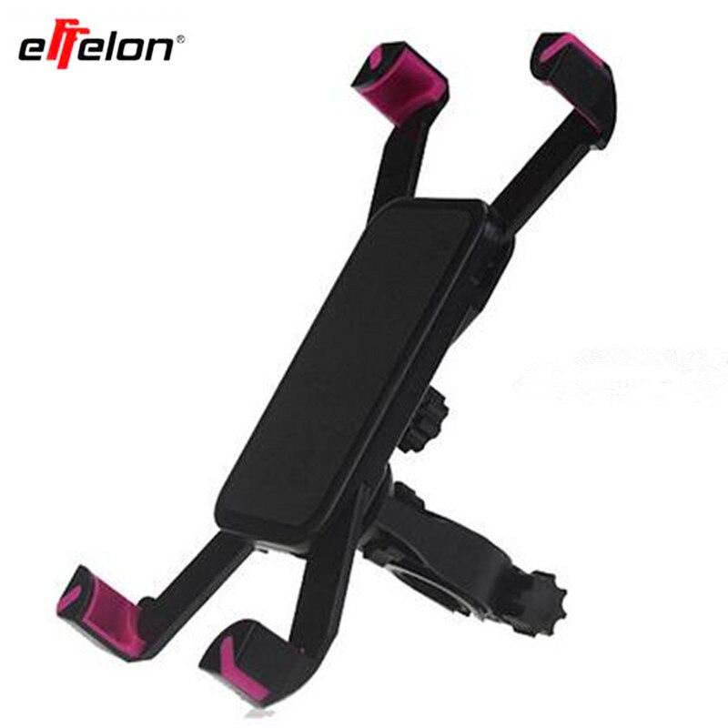 Effelon Universal 360 Rotating Motorcycle Bicycle MTB Bike Phone Holder Handlebar Mount Clip Stand Bracket