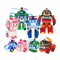 Naruto Dragon Ball New Juguetes 4pcs For Corps Robot Car Toy Figures Children Gift Deformation Transforme Infant Puzzle Toys.