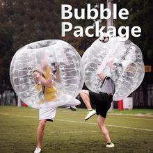 1.2 м Диаметр ПВХ надувные бампер мяч пузырь столкновения буфера молоток для взрослого человека Открытый работает спортивная игра шарик zorb