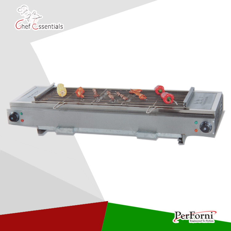 PKJG-GB110 Gas Smokeless Barbecue Oven home commercial grill food products sc 05 burner infrared barbecue somkeless barbecue grill bbq gas infrared girll machine stainless steel smokeless barbecue pits