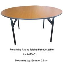 """4"""" D x 30"""" H мм складной Банкетный раунд стол, Меламиновый, Топ 18 мм или 25 мм, сталь откидная ножка, 2 шт./коробка, быстрая"""