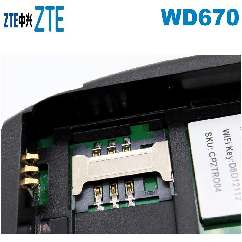 ZTE WD670 LTE mobilny Hotspot WiFi