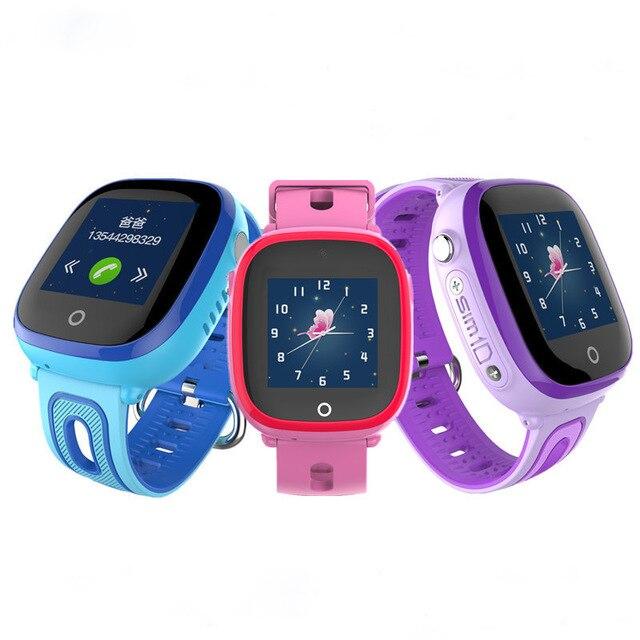 DF31G 2018 New GPS WIFI Children Smart Watch Waterproof Touch Screen Kids Watch Support SIM Card SOS Call Baby Wristwatch