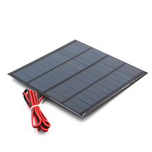 12V 18V แผงพลังงานแสงอาทิตย์ 100/200cm MINI SOLAR ระบบ DIY สำหรับแบตเตอรี่โทรศัพท์มือถือ charger 1.8W 1.92W 2W 2.5W 3W 1.5W 4.5W 5W
