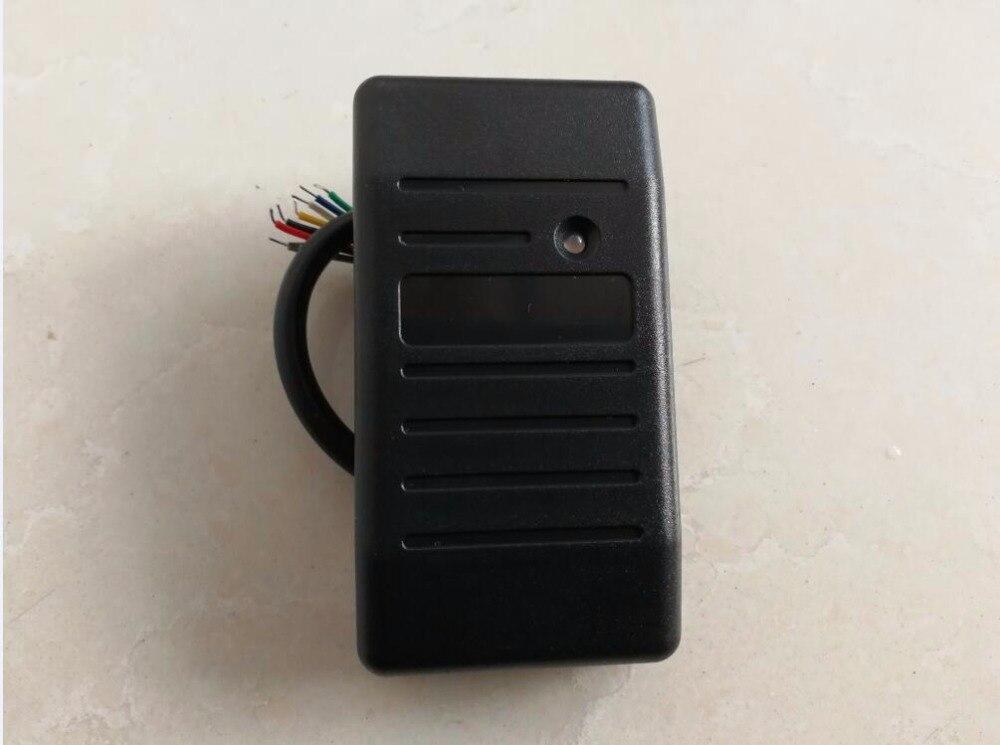 Waterproof 13.56Mhz IC RFID Reader WG26/34 Card Key fob Reader Access Control System 13 56mhz waterproof wg26 rfid ic reader for access control