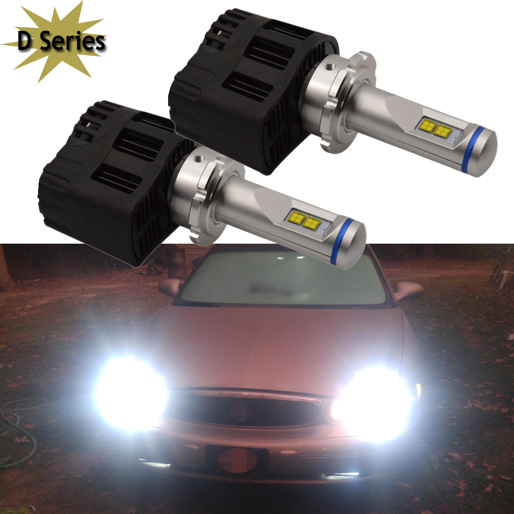 Free shipping D4 D1 D3 D2 D2S 4300K Super Bright 5200lm 55W Car LED Headlight Fog Light Conversion Kit LED K.O. Xenon HID Kit free shipping 100w 9005 h10 hb3 ac hid conversion kit 4300k 6000k 8000k 10000k 12000k car headlight light xenon super bright