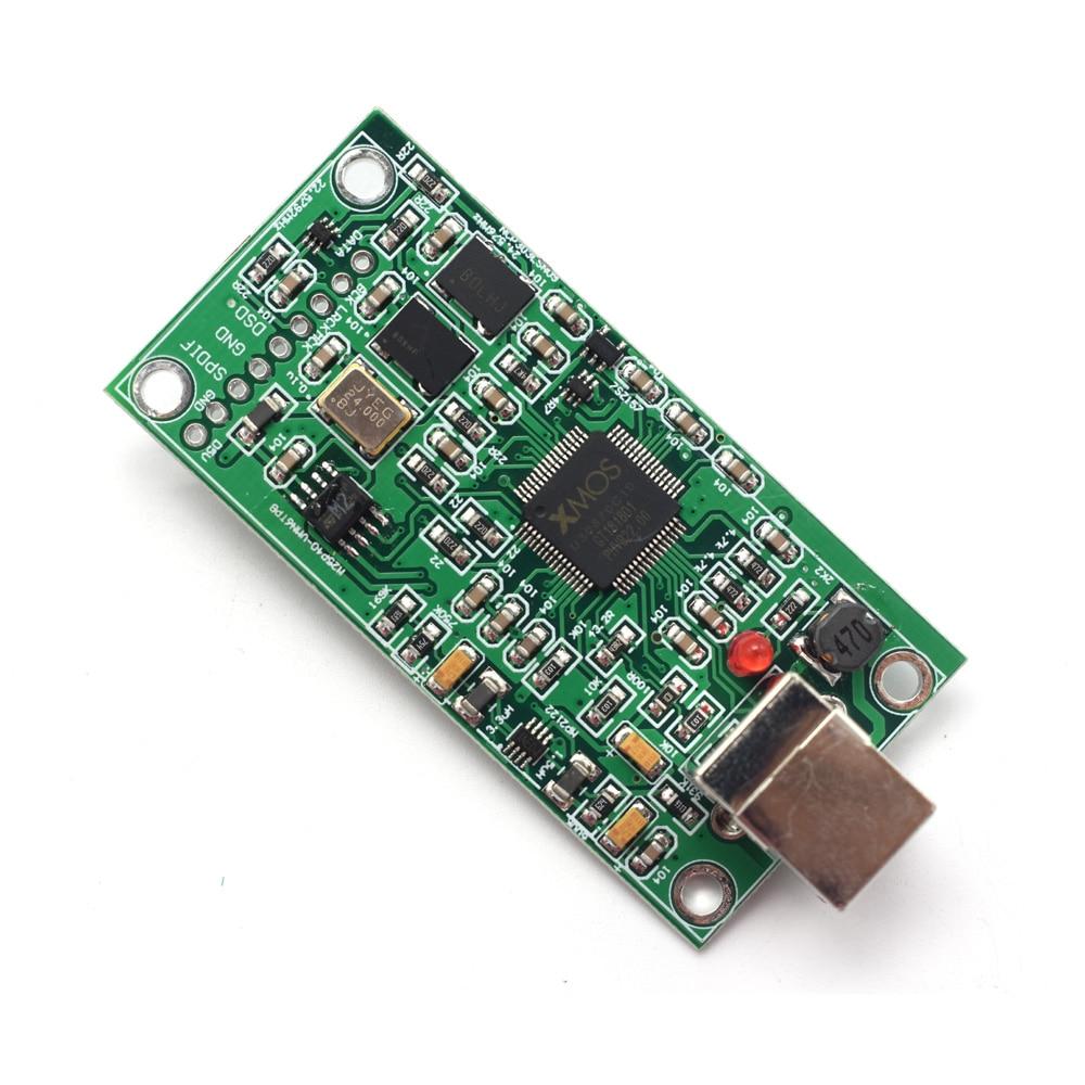 Lusya mise à niveau SITIME crystal XMOS XU208 USB 384 K 32B module I2S SPDIF sortie prise en charge DSD pour ES9018 9028 9038PRO DAC A6-012 - 5