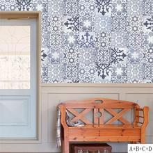 papel pintado azulejo cocina RETRO VINTAGE