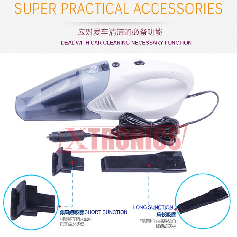 Car Vacuum Cleaner Wet And Dry Dual-use Super Suction(6)