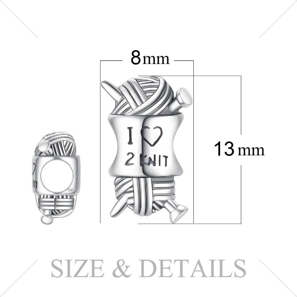 Jewelrypalace amor malha 925 prata esterlina contas encantos prata 925 original para pulseira de prata 925 original para fazer jóias