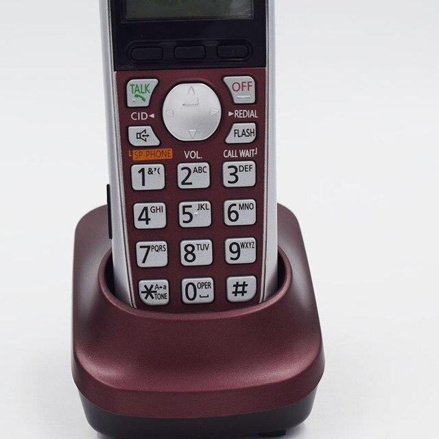 Nouveau téléphone sans fil numérique Dect 6.0 couleur avec système de réponse Station de Base sans fil téléphone fixe sans fil pour le bureau