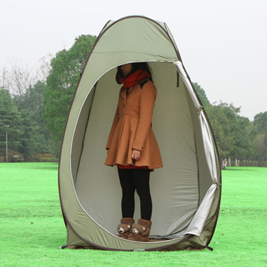 naked women changing tent