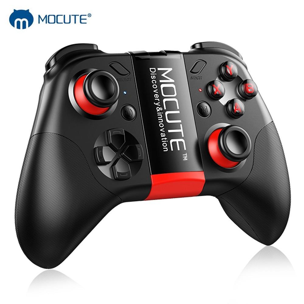 MOCUTE 054 Bluetooth Gamepad Mobile Joypad Joystick Senza Fili VR Regolatore Smartphone Tablet PC Smart Phone TV Game Pad