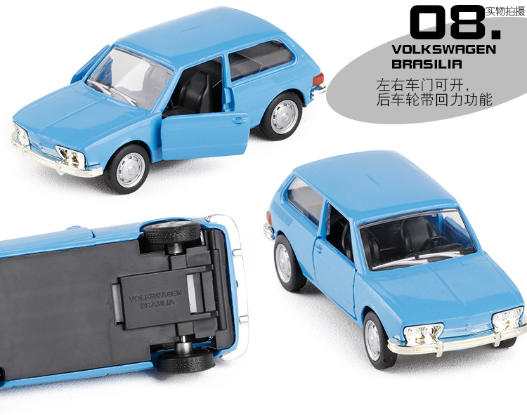 Alta Simulacion Volkswagen Carro Retro Vintage Coche Musculo