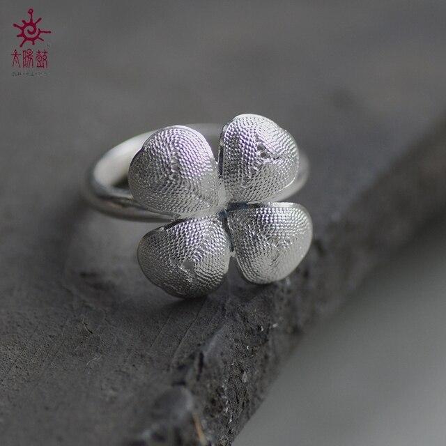 SUNDRUM anillo de plata 999 mujeres anillo de la venda de boda ajustable anillos de compromiso anillo de promesa LETRAS LIBRES