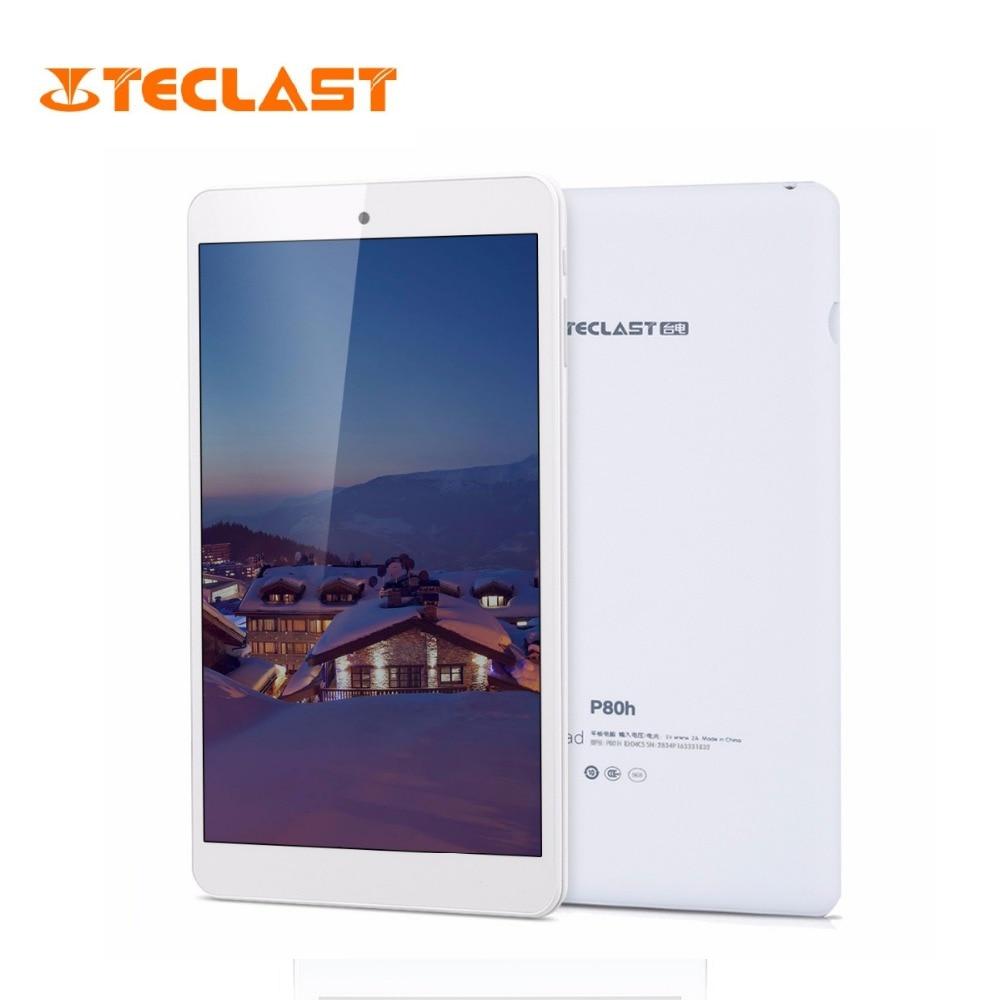 Teclast P80H 8 дюймов Планшеты MTK8163 Android 5,1 4 ядра 64bit ips 1280×800 двойной WI-FI 2,4 ГГц/5 ГГц HDMI gps Bluetooth Tablet PC