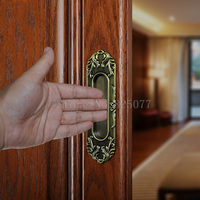 8PCS Invisible Handcuffs Cabinet Wardrobe Knobs Drawer Furniture Cupboard Kitchen Cabinet Door Pulls Handles And Knobs