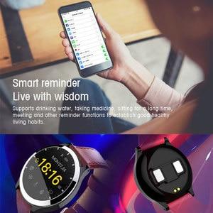 Image 4 - Новинка 2019, умные часы Interpad на Android iOS, ЭКГ PPG, монитор артериального давления, пульсометр, умные часы для Huawei Lenovo Xiaomi iPhone